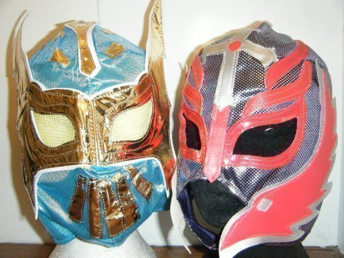 Ashleys Sin Cara Blue Mask And Rey Mysterio Childrens Mask -