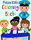Police Kids Coloring Book