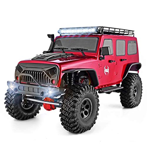 (RGT Rc Crawler 1:10 Scale 4wd RC Rock Cruiser EX86100P 313mm Wheelbase Crawler Off Road Monster Truck RTR 4x4 Waterproof RC Car)