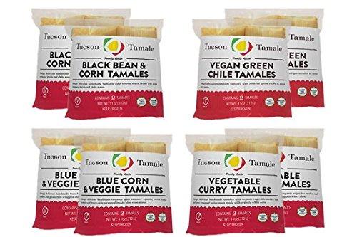 16 Gourmet Vegan Tamales - Tucson Tamale