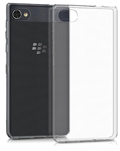 Blackberry Curve Armor Case - Blackberry Motion Case, [Invisible Armor] Xtreme SLIM, CLEAR, SOFT, Drop protection TPU Rubber Bumper Case/Back Cover