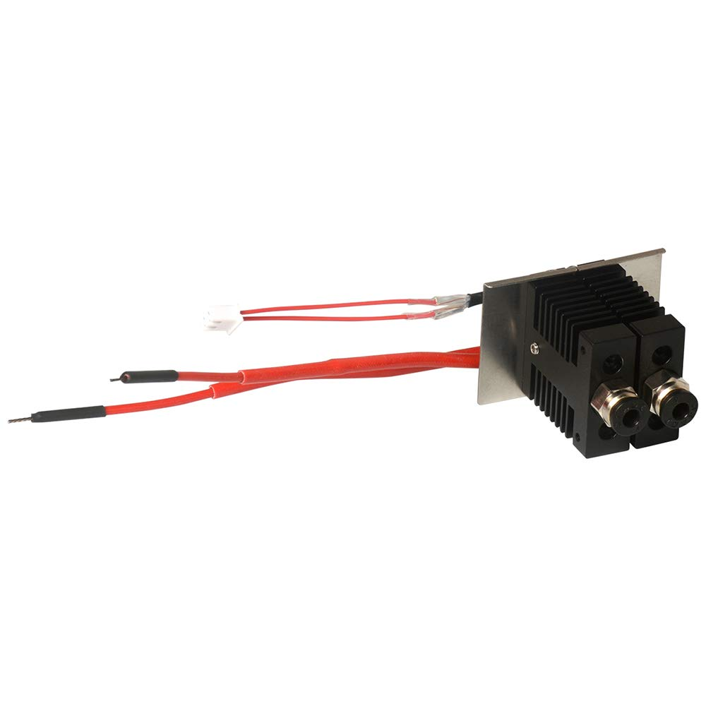 New 2 in 1 Out Hotend Kit for Geeetech A10M A20M 3D Printer Avoid Clogging or Jamming 1.75mm Filament 0.4mm Nozzle Extruder