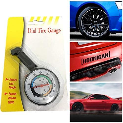 Manometro per pneumatici auto sgonfio ad alta precisione multifunzione misuratore di pressione per pneumatici