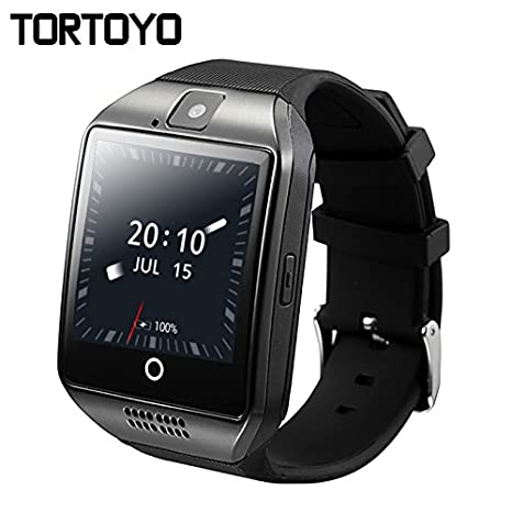 Amazon.com: Q18 Plus Android OS Smart Watch teléfono 3 G GPS ...