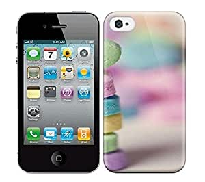 Best Power(Tm) HD Colorful Painted Watercolor Pastel I Love U Hard Phone Case For Iphone 4/4S