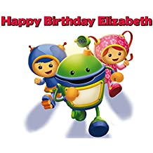 Team Umizoomi Edible Image Photo Cake Frosting Icing Topper Sheet Personalized Custom Customized Birthday Party - 1/4 Sheet - 79131