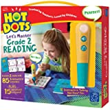 Educational Insights 2393 Hot Dots Jr. Let's Master Grade 2 Reading Set with Hot Dots Pen