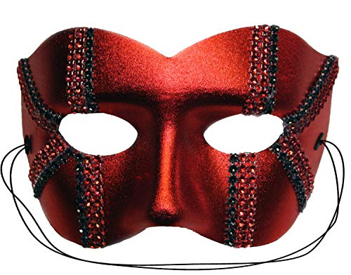 Success Creations USA Daredevil Red Men's Masquerade Mask -