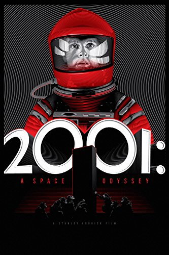 2001 A Space Odyssey Movie Fan Art Poster 24x36