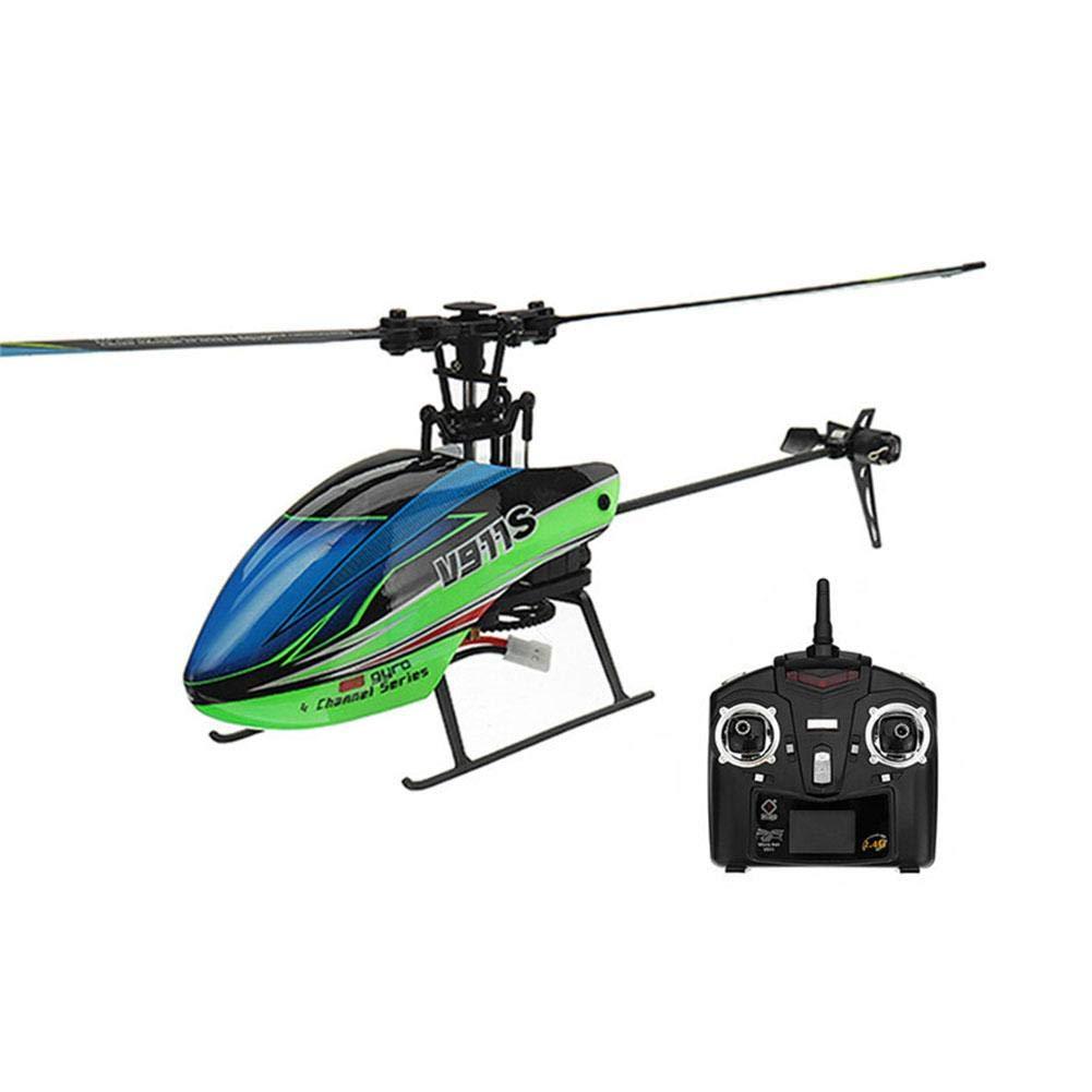 TRULIL RC helicóptero RC helicóptero 2.4 G Cuatro vías einzelprope ller de 6 Ejes giroscópicos Control Remoto helicóptero Resistente al Fallen RC Avión Juguete Regalo para niños