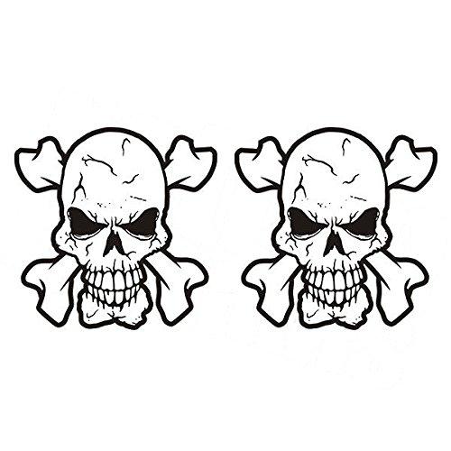 MAGNET Skull Decal SET 3