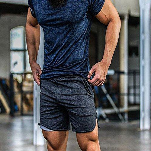 Sportivi Everworth Everworth Pantaloncini Grey Uomo Pantaloncini Sportivi x4PTOHw