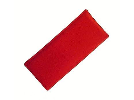 DINTEX - Bolsa Gel Frio-Calor Rojo/Azul 10X24: Amazon.es ...