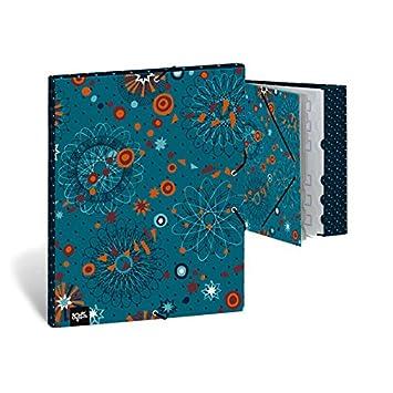 BUSQUETS - Carpeta Separadora Big Bang negro Busquets: Amazon.es: Oficina y papelería