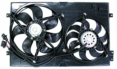 Dual Radiator and Condenser Fan Assembly - Cooling Direct For/Fit VW3115103 99-05 Volkswagen VW Jetta Golf 1.8/2.0/1.9L Heavy Duty Vw Golf Cooling