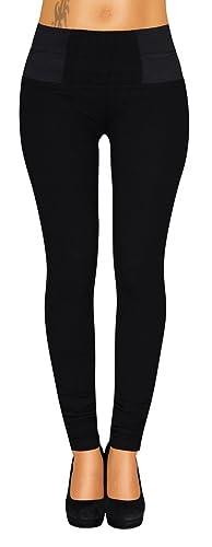 Danaest – Pantalón – jegging – Básico – para mujer negro XS/36