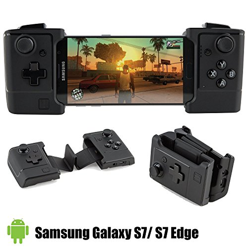 Gamevice Controller - Gamepad Game Controller for Android Galaxy S7 - Samsung Gear, Game Pad, Gaming Controller for Android, 400 + Google Play (New 2018)