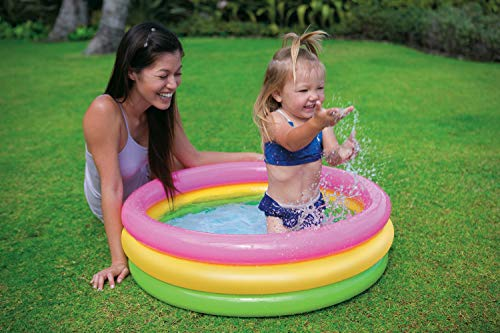 Intex Sunset Glow Baby Pool (34 in x 10 in) (3-Pack)