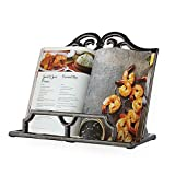 Vintage Cookbook Stand Cast Iron, Decorative