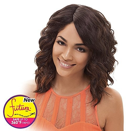 Janet Collection Synthetic Wig Niki (1BF30(Shown on model))