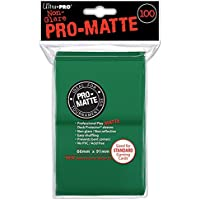 100 Deck Protector Sleeves Ultra Pro Magic PRO MATTE STANDARD GREEN Verde Bustine Protettive Buste