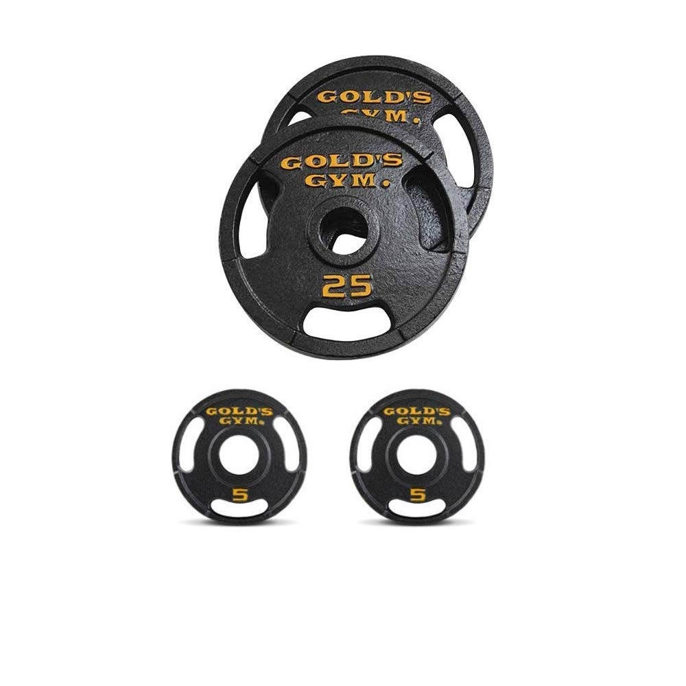 Golds Gym.. 50 lb Olympic Plate Set (60)