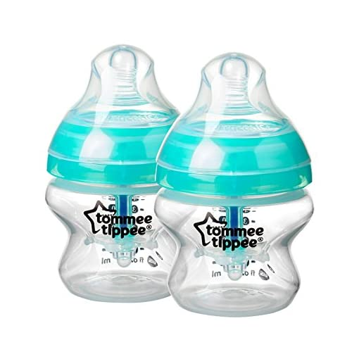 Tommee Tippee Advanced Anti-Colic Baby Bottle Complete Feeding /& Gift Set White