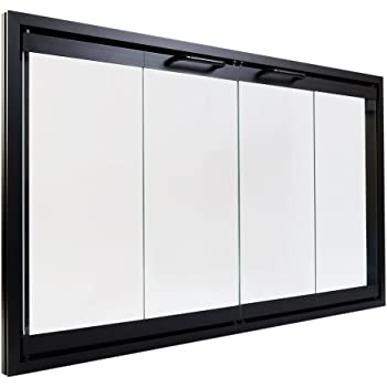 Amazon Heatilator Bi Fold Glass Fireplace Door Easy To Install