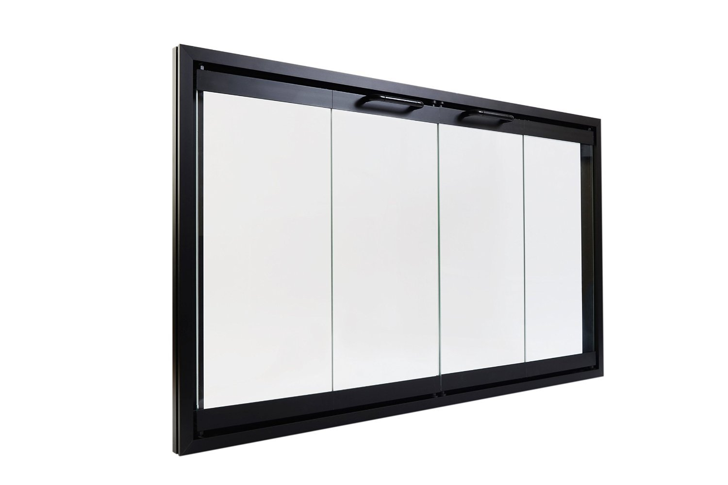 amazon com superior bi fold glass fireplace door easy to install