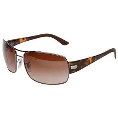 9f4ded92a1 Amazon.com  Ray Ban RB3426 Sunglasses-004 13 Gunmetal (Brown Gradient  Lens)-61mm  Shoes