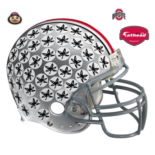 FH4140013 Ohio State Buckeyes Helmet Vinyl Wall Graphic Decal Sticker
