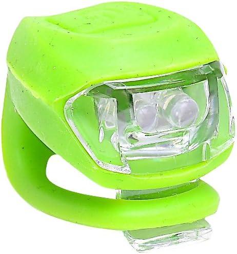 Retrospec Bicycles Bondi-2 Super Bright 2 LED Urban Commuter Silicon Bike Headlight