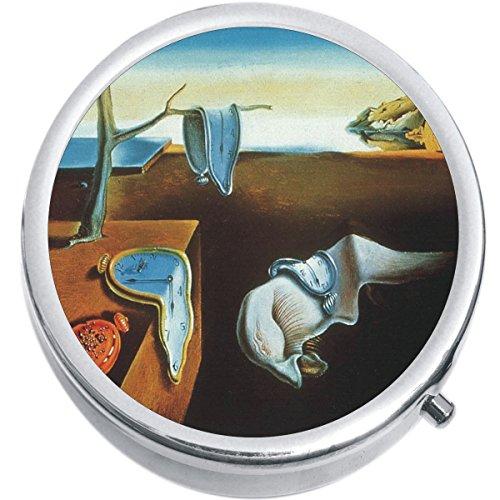 (Melting Clocks Salvador Dali Medicine Pill Box)