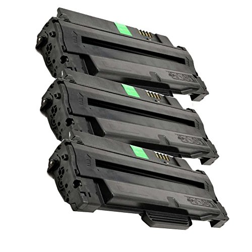 Toner for Dell-1130 330-9523 7H53W High Yield Toner Cartridge Including 3 Pack (Black) for Dell 1133 1135n 1130 1130n Printers ()