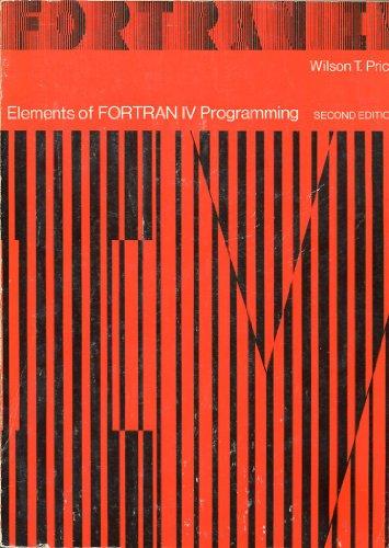 Download Elements of Fortran IV Programming book pdf | audio