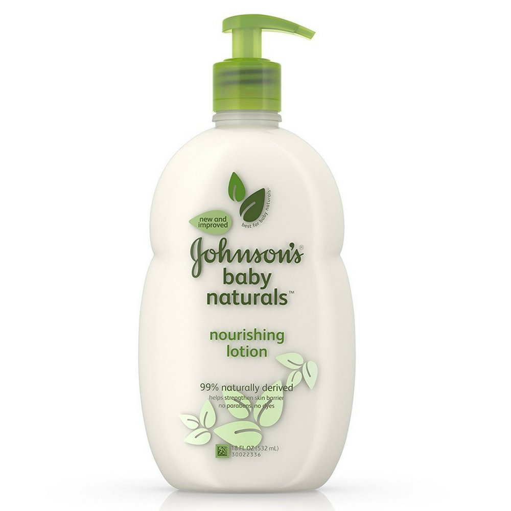 JOHNSON'S Natural Baby Lotion Allerfree Fragrance 18 oz (Pack of 10)