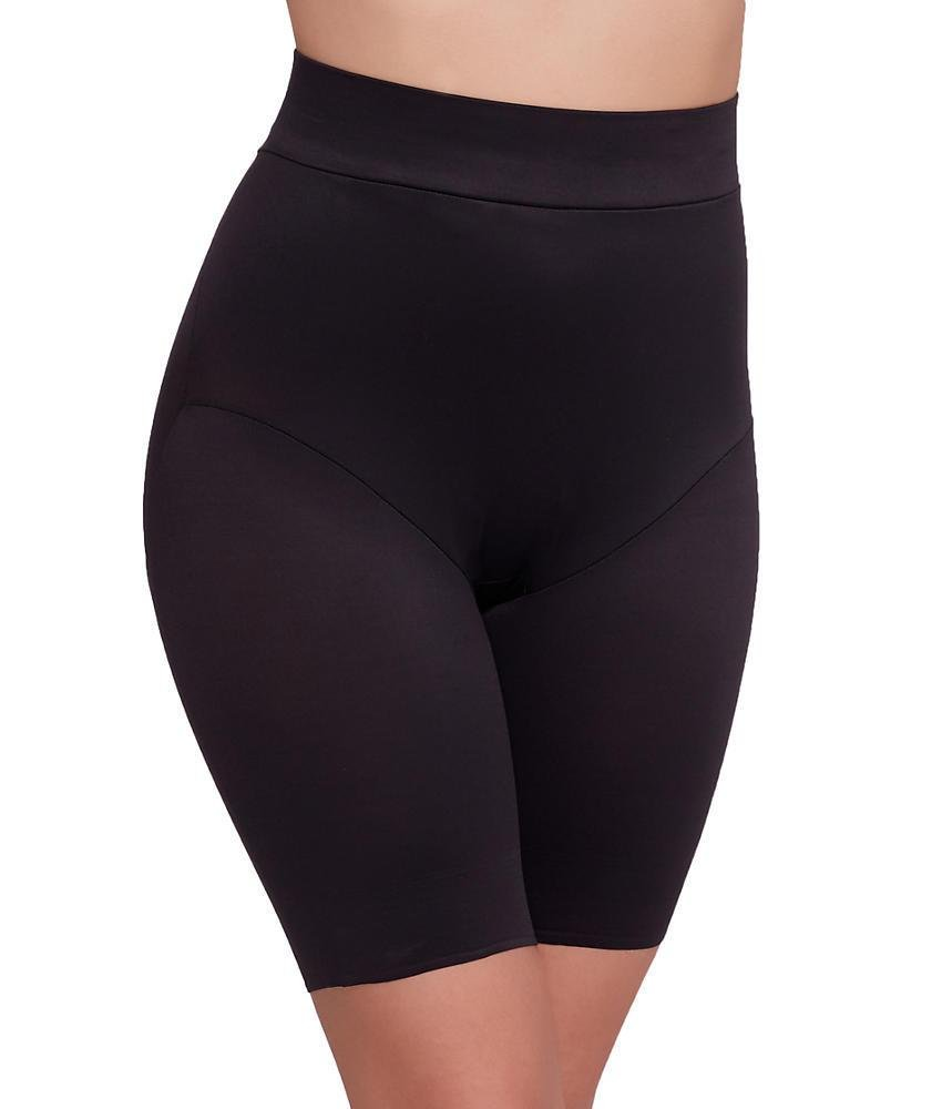 Miraclesuit TC Fine Intimates Back Magic Extra-Firm Control Power Waist Thigh Slimmer, XL, Black