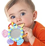Baby : Nuby Look-At-Me Mirror Teether Toy, Colors May Vary