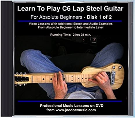 Guitar steel guitar tablature : Amazon.com: Learn To Play C6 Lap Steel Guitar - For Absolute ...