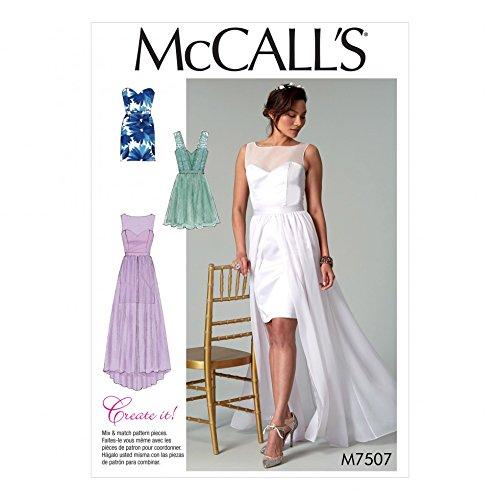 Unbekannt McCall \'s Damen Schnittmuster 7507nbsp;Mix amp; Match ...