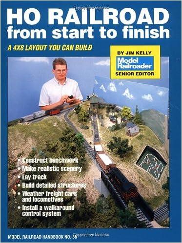 HO Railroad from Start to Finish (Model Railroad Handbook
