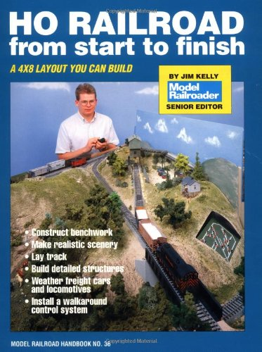 HO Railroad from Start to Finish (Model Railroad Handbook, No ()