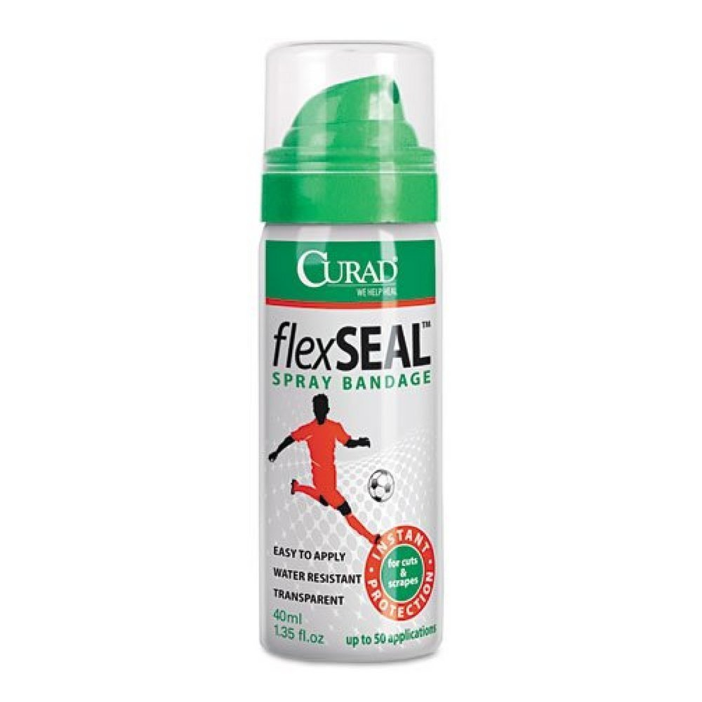 Amazon.com: Curad FlexSeal Spray Bandage 1.35 oz (Pack of 5): Cell Phones &  Accessories