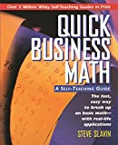 img - for Quick Business Math: A Self-Teaching Guide book / textbook / text book