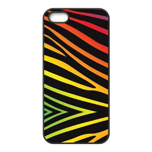 SYYCH Phone case Of Colorful Cute Zebra Style Cover Case For iPhone 5,5S