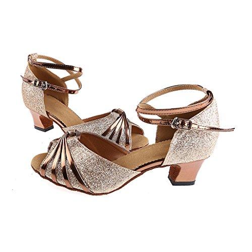 Tango Sandales Chaussures Toe Femmes Salon Avec Misu De Pour En Et Salle Peep Danse Salsa 7wqS7rY