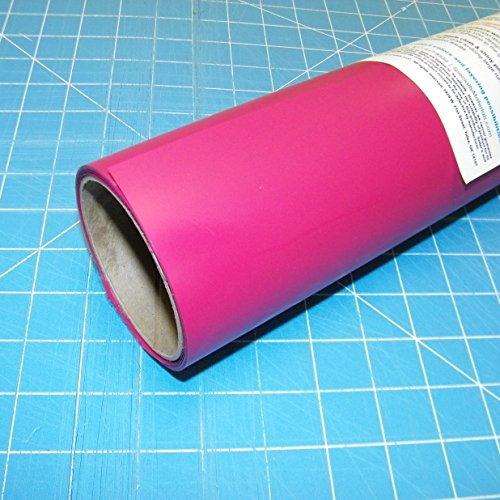 ThermoFlex Plus 15'' x 10' Roll Hot Pink Heat Transfer Vinyl, HTV by Coaches World by Thermoflex
