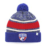 MLS FC Dallas '47 Fairfax Cuff Knit Hat with Pom, One Size Fits Most, Royal