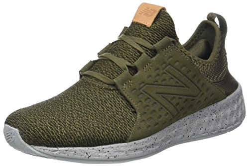 New Balance Mens Fresh Foam Cruz Running Shoe Green pmcLXaDM