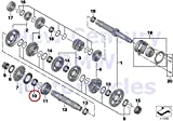 BMW Genuine Motorcycle Output Shaft Transmission Shafts Output Shaft Gasket Set HP4 S1000RR S1000R S1000XR